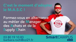 Bac+5 alternance métier Manager Achats Supply Chain CCIFormation SmartCAMPUS